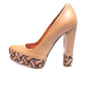 Brown  Missoni High Heel