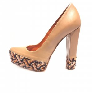 Missoni High-Heeled Sandals brown