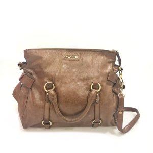 Brown  Miu Miu Cross Body Bag