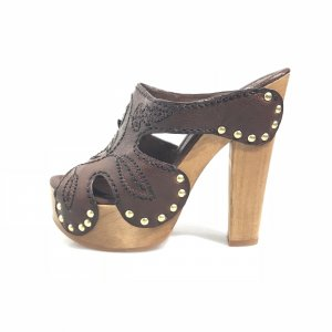 Brown  Miu Miu High Heel