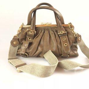 Brown  Miu Miu Shoulder Bag