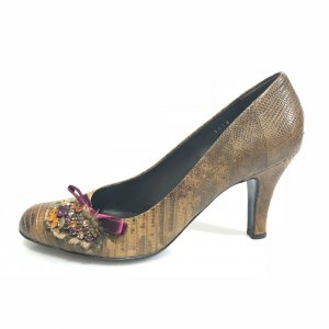 Brown  Prada High Heel