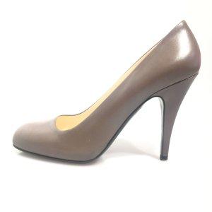 Prada High-Heeled Sandals brown