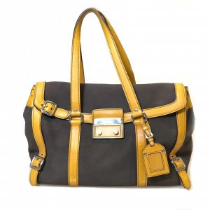 Brown  Prada Shoulder Bag