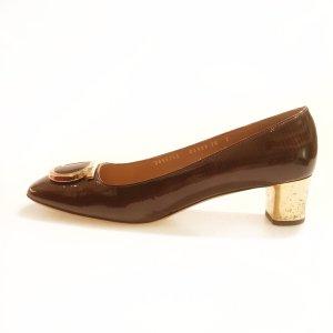 Brown  Salvatore Ferragamo High Heel