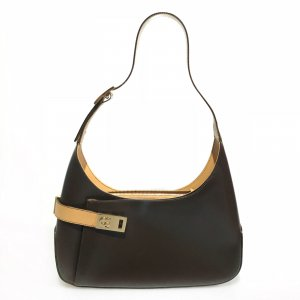 Brown  Salvatore Ferragamo Shoulder Bag