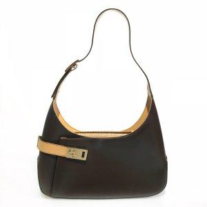 Brown  Salvatore Ferragamo Shoulder Bag