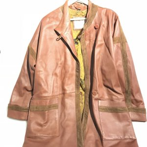 Brown  Valentino Leather Jacket