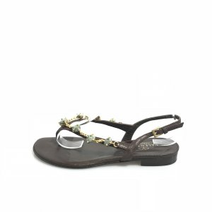 Brown  Valentino Sandal