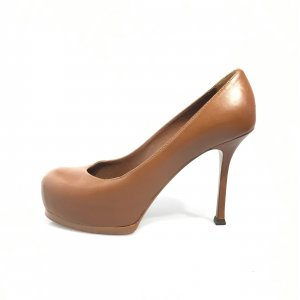 Brown  Yves Saint Laurent High Heel