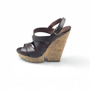 Brown  Yves Saint Laurent High Heel