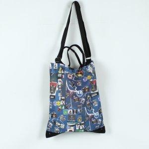 Crossbody bag steel blue
