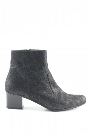 Brunate Ankle Boots schwarz-grau Animalmuster Animal-Look