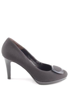 Casual High Heels Brunate Look Schwarz qMVGzpSU