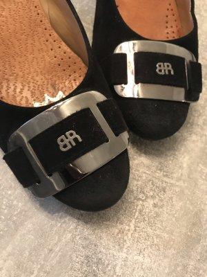 Brunate Loafers zwart-zilver