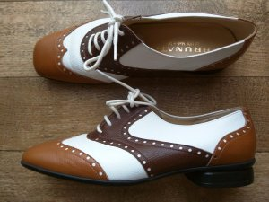 Brunate Lace Shoes multicolored leather