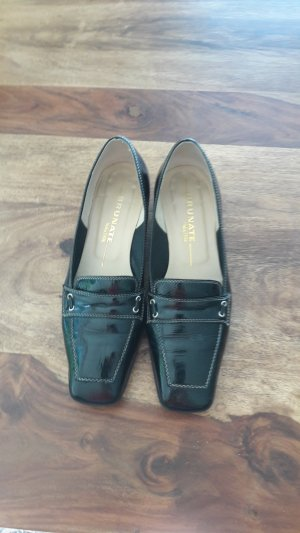 Brunate Business Shoes black leather