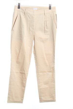 Brunello Cucinelli Bundfaltenhose beige klassischer Stil