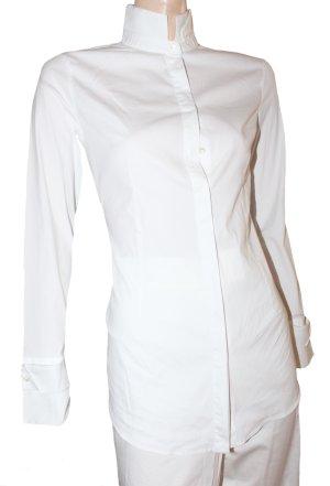 Brunello Cucinelli Blusa de manga larga blanco Algodón
