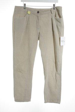 Brunello Cucinelli Pantalon en velours côtelé brun sable style décontracté