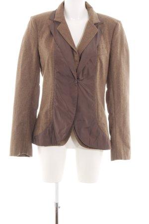 Brunello Cucinelli Short Blazer brown flecked casual look