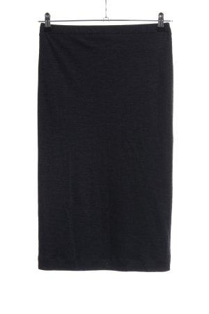 Brunello Cucinelli Stretch Skirt black business style