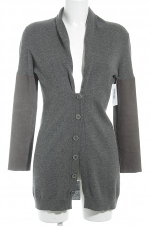 Brunello Cucinelli Strickjacke grau Casual-Look