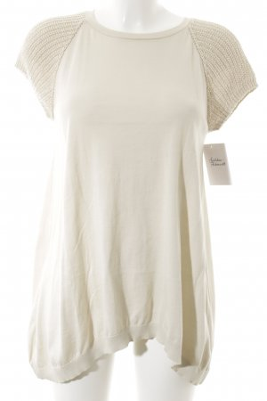 Brunello Cucinelli T-Shirt creme Casual-Look