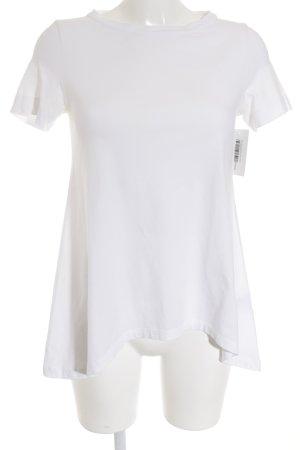 Brunello Cucinelli T-Shirt weiß minimalistischer Stil