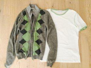 Brunello Cucinelli Knitted Twin Set multicolored cashmere