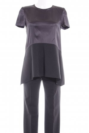 Brunello Cucinelli Woven Twin Set dark grey-anthracite business style