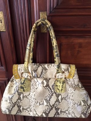 Sac Baril multicolore cuir