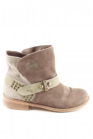 Bruno Banani Ankle Boots braun Casual-Look