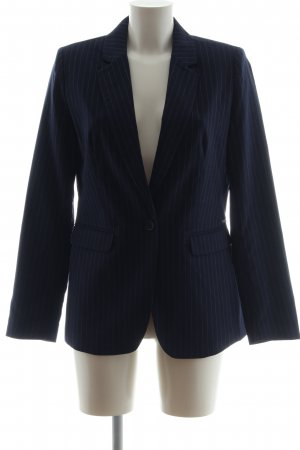 Bruno Banani Boyfriend Blazer blue striped pattern business style