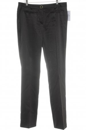 Bruno Banani Bundfaltenhose schwarz Business-Look