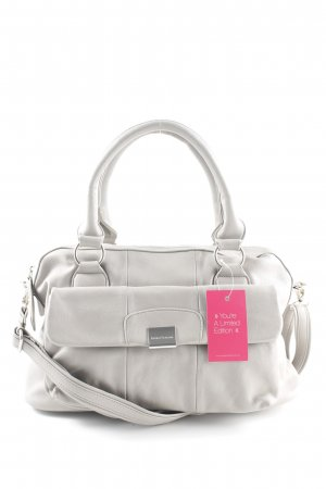Bruno Banani Handtasche hellgrau Business-Look