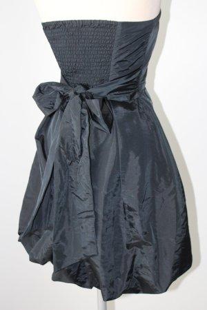 Bruno Banani Kleid Bandeaukleid trägerlos Minikleid neu Gr. 36 S gothic schwarz Cocktailkleid