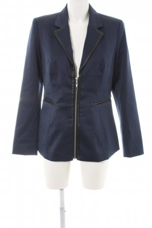 Bruno Banani Long-Blazer dunkelblau Business-Look