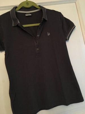 Bruno Banani Polo Shirt grau Gr. 40