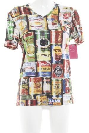 Bruno Banani Print-Shirt Mustermix Casual-Look