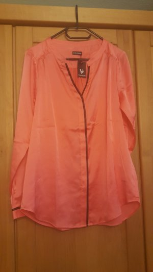 Bruno Banani Glanzende blouse lichtrood