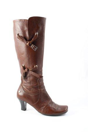 Bruno Banani Hoge laarzen bruin casual uitstraling