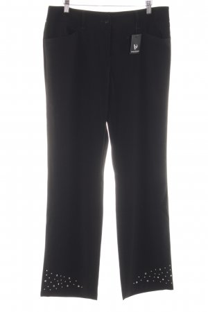 Bruno Banani Stoffhose schwarz Business-Look