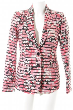Bruno Banani Tweedblazer florales Muster Business-Look