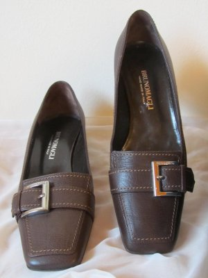Scarpa business marrone Pelle