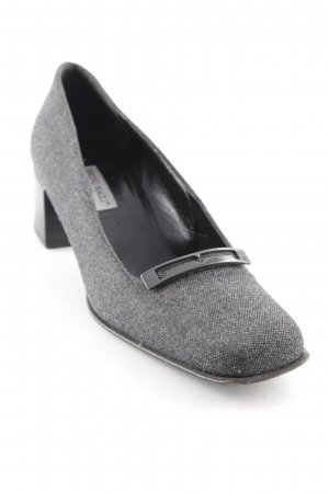 Bruno Magli Hochfront-Pumps grau Business-Look