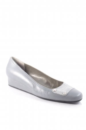 Bruno Magli Keil-Pumps grau Casual-Look