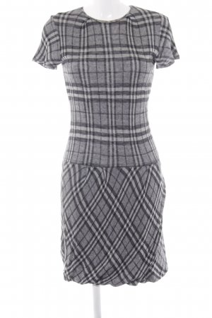 Bruno Manetti Babydoll Dress glen check pattern casual look