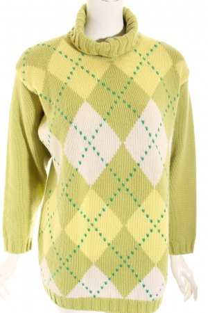 Bruno Manetti Strickpullover mehrfarbig Casual-Look