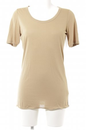 Bruno Manetti T-Shirt beige Casual-Look